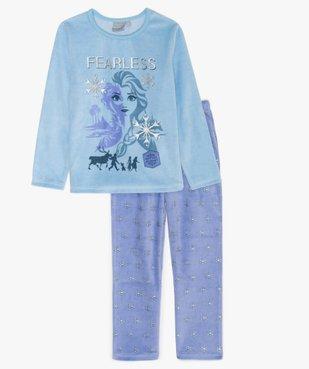 Pyjama fille 2 pièces avec motifs pailletés - Frozen 2 vue1 - REINE DES NEIGE - GEMO