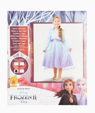 Déguisement fille Elsa La Reine des Neiges 2 - Disney vue4 - DISNEY - GEMO