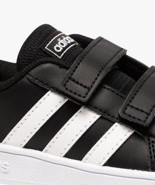 Baskets bébé bicolores à scratch – Adidas Grand Court vue6 - ADIDAS - GEMO