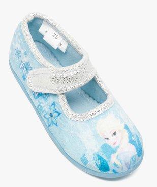 Chaussons fille forme babies avec motifs Reine des Neiges vue5 - REINE DES NEIGE - GEMO