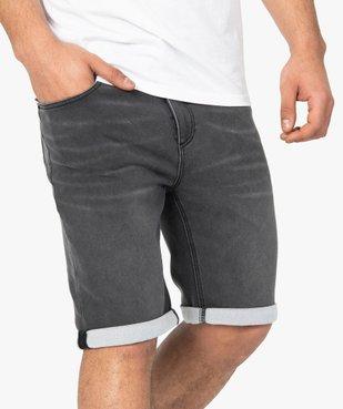 Bermuda homme en jean extensible vue2 - Nikesneakers (HOMME) - Nikesneakers