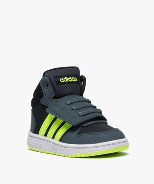 Baskets bébé garçon semi-montantes – Adidas Hoops Mid vue2 - ADIDAS - GEMO