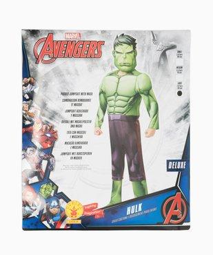 Déguisement enfant Hulk - Marvel (2 pièces) vue4 - MARVEL - GEMO