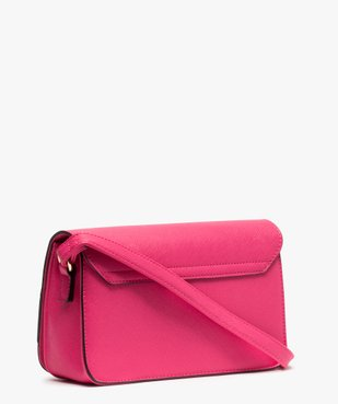 Sac femme forme besace compact vue2 - GEMO (ACCESS) - GEMO