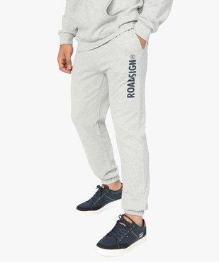 Pantalon de jogging homme en maille imprimée - Roadsign vue1 - ROADSIGN - Nikesneakers