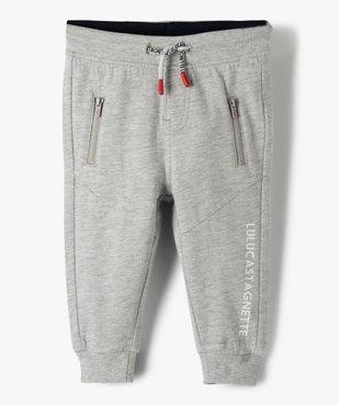 Pantalon de jogging bébé garçon – Lulu Castagnette vue1 - LULUCASTAGNETTE - GEMO