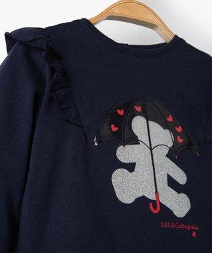 Tee-shirt bébé fille avec motifs pailleté – Lulu Castagnette vue3 - LULUCASTAGNETTE - Nikesneakers
