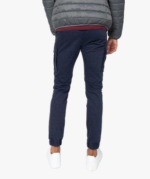 Pantalon homme cargo multipoche au coloris unique vue3 - Nikesneakers (HOMME) - Nikesneakers