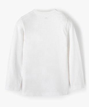 Tee-shirt garçon à manches longues et col tunisien vue4 - GEMO C4G GARCON - GEMO