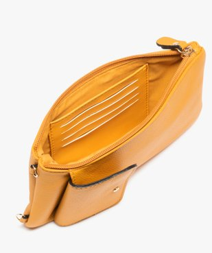 Sacoche femme avec bandoulière amovible vue3 - GEMO (ACCESS) - GEMO