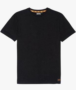 Tee-shirt garçon avec motif au dos - Fortnite vue1 - FORTNITE - GEMO