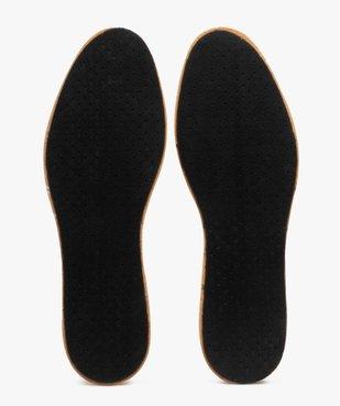Semelles confort en cuir sur latex multi-taille vue2 - GEMO(ENTRETIEN) - GEMO