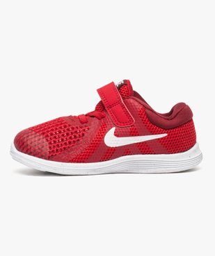 Baskets basses lacets et scratchs Nike Revolution 4 vue3 - NIKE - GEMO