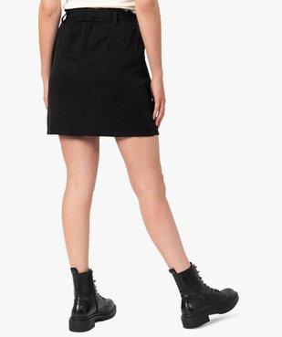 Jupe femme avec poches à rabat vue3 - GEMO(FEMME PAP) - GEMO