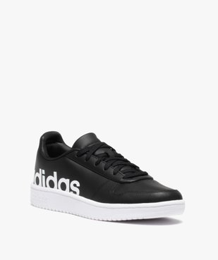 Baskets homme unies à lacets – Adidas Hoops 2.0 vue2 - ADIDAS - GEMO