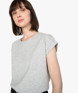 Tee-shirt femme à manches courtes et col rond vue2 - Nikesneakers C4G FEMME - Nikesneakers