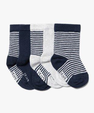 Chaussettes bébé à rayures (lot de 5) vue1 - GEMO C4G BEBE - GEMO