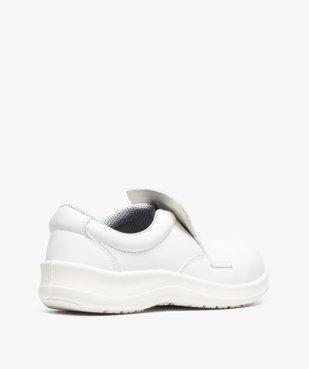 Chaussures professionnelles femme mocassin sécurité S2 vue4 - GEMO (SECURITE) - GEMO