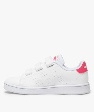 Baskets fille unies trois bandes scratch – Adidas vue3 - ADIDAS - Nikesneakers