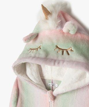 Combinaison d'intérieur fille avec capuche icorne vue3 - GEMO (JUNIOR) - GEMO