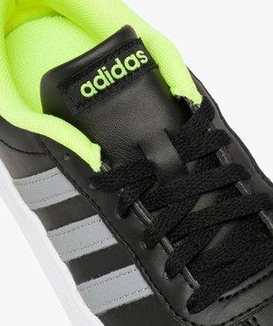 Basket basse intérieur fluo - Adidas VL Court 2.0 K vue6 - ADIDAS - GEMO