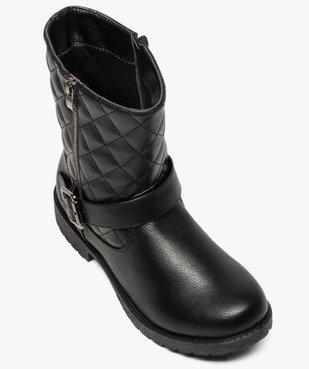 Bottes motardes zippées vue5 - Nikesneakers (CASUAL) - Nikesneakers