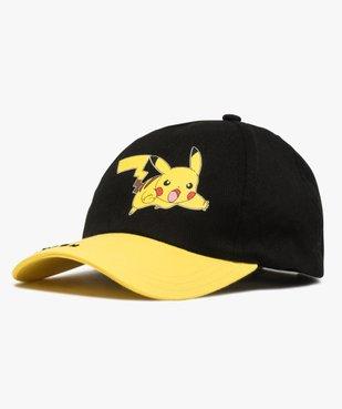 Casquette garçon avec motif et visière contrastante - Pokemon vue1 - POKEMON - Nikesneakers