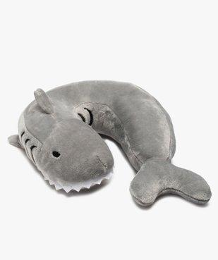 Coussin de voyage cervical motif requin vue1 - Nikesneakers (ENFANT) - Nikesneakers