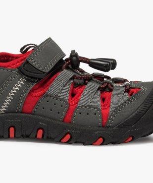 Sandales garçon multi-matières tout terrain vue6 - Nikesneakers (ENFANT) - Nikesneakers