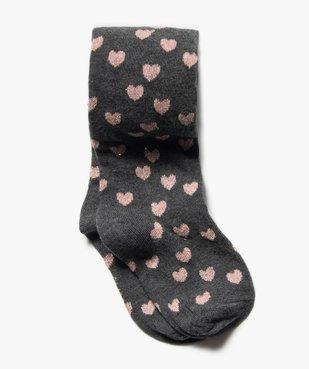 Collants bébé fille chaud imprimé cœurs vue1 - Nikesneakers C4G BEBE - Nikesneakers