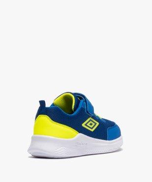 Chaussures de running garçon à lacets et scratch - Umbro vue4 - UMBRO - GEMO