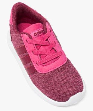 Basket fille multi-matière et lacets élastiques - Adidas vue5 - ADIDAS - GEMO