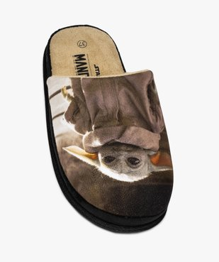 Chaussons garçon mules imprimées – Star Wars Mandalorian vue5 - STAR WARS - Nikesneakers
