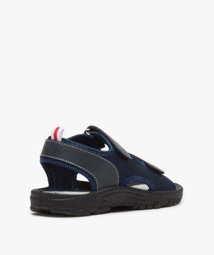Sandales garçon à semelle crantée et fermeture scratch vue4 - Nikesneakers (ENFANT) - Nikesneakers