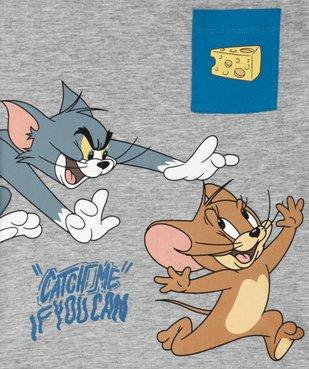 Tee-shirt garçon avec motif XXL – Tom and Jerry vue2 - TOM ET JERRY - GEMO