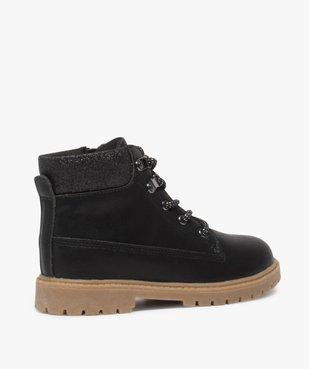 Boots fille avec col fantaisie et semelle crantée vue4 - Nikesneakers (ENFANT) - Nikesneakers