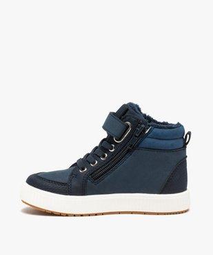 Boots garçon unies à col rembourré et doublure douce vue3 - Nikesneakers (ENFANT) - Nikesneakers