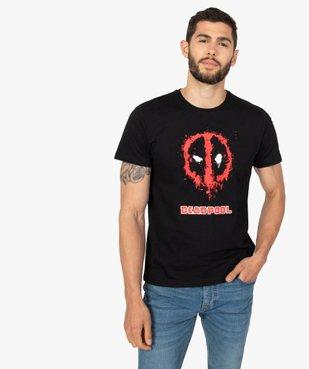 Tee-shirt homme à manches courtes imprimé Deadpool - Avengers vue1 - MARVEL DTR - GEMO