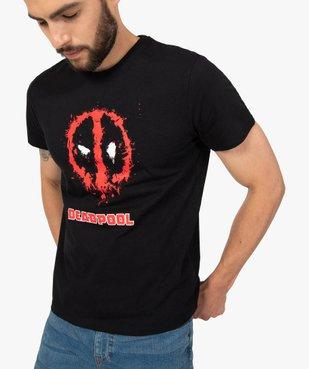 Tee-shirt homme à manches courtes imprimé Deadpool - Avengers vue2 - MARVEL DTR - GEMO