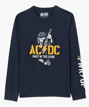 Tee-shirt homme avec motif ACDC à manches longues vue4 - ACDC - GEMO