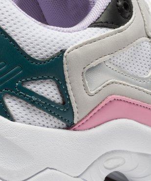 Baskets femme multicolores Select Low - Fila vue6 - FILA - GEMO