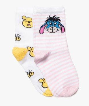 Chaussettes bébé  avec motifs Winnie l'ourson (lot de 2) - Disney vue1 - DISNEY DTR - Nikesneakers