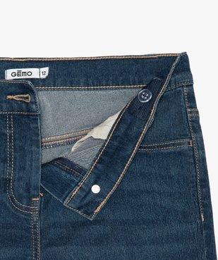 Jean fille coupe slim extensible 4 poches vue2 - GEMO (JUNIOR) - GEMO