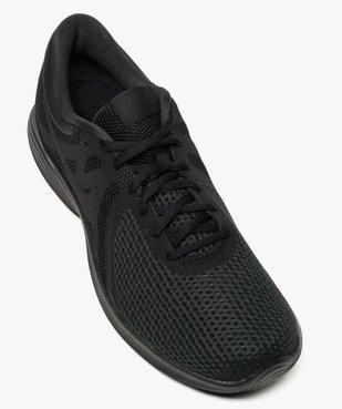 Basket homme unie en mesh Revolution 4 - Nike vue5 - NIKE - GEMO