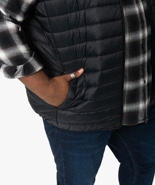 Doudoune homme sans manches avec col montant vue2 - GEMO (G TAILLE) - GEMO