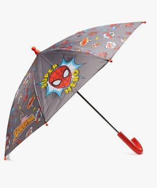 Parapluie garçon imprimé multicolore - Spiderman vue1 - SPIDERMAN - GEMO
