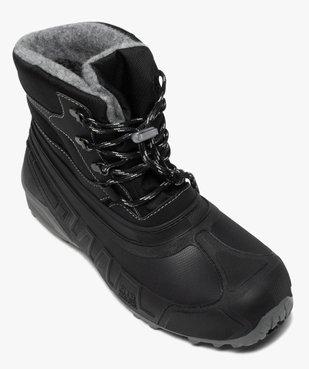 Après-skis homme style chaussures de montagne à lacets vue5 - GEMO (EQUIPT) - GEMO