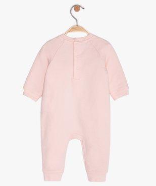 Combinaison bébé sans pieds à motif panda vue2 - GEMO(BB COUCHE) - GEMO
