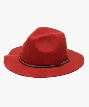 Chapeau femme en feutrine avec double lien vue1 - GEMO (ACCESS) - GEMO
