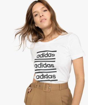 Tee-shirt femme à manches courtes pour le sport - Adidas vue2 - ADIDAS - GEMO